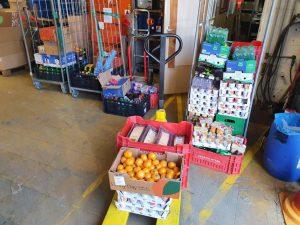 Rotterdam Ahoy schenkt producten aan VB Spijkenisse eo